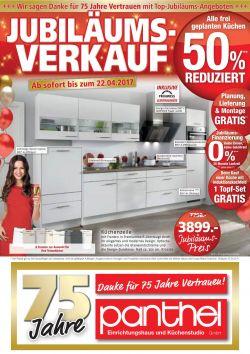 Jubiläums-Verkauf